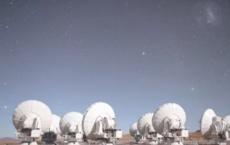 ALMA Radio Telescope Chajnantor, Atacama, Chile