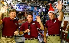 Christmas Wishes Video Sent From The International Space Station