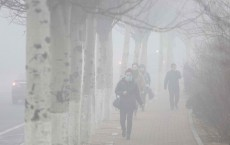 Heavy Smog Hit North China