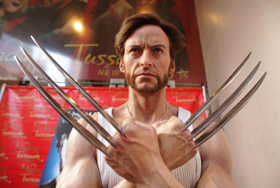 Hugh Jackman's 'Wolverine' Wax Figure Receives A Manicure