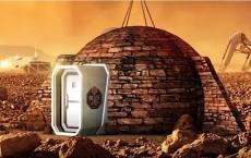 Igloo On Mars