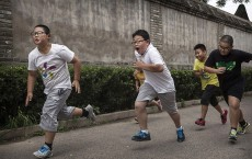 Chinese Students Attend Summer Camp For Overweight Kids