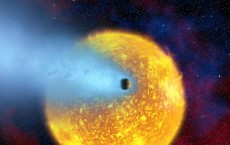 Hubble Observes An Evaporating Planet