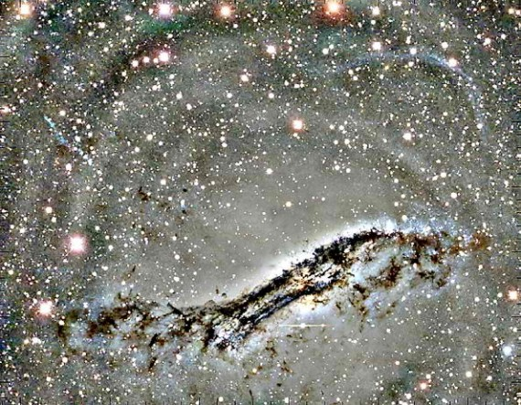 Evidence Of Galaxy Merger Discovered At Centaurus A