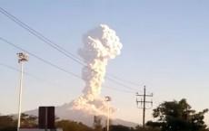Massive Volcanic Eruption Near Mexico City