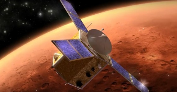 Traffic Jam At Mars In 2021