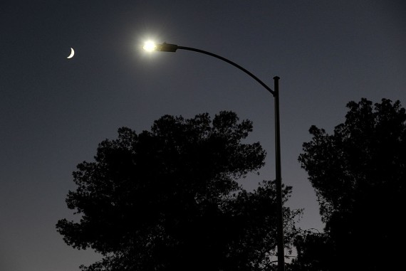 Streetlight With LED Fixtures