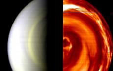 Venus Express Provides Views Of Planet's South Pole