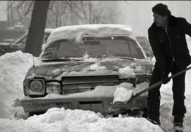 Snow Shoveling And Heart Attack Risk In Men