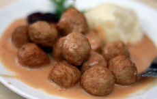 Swedish Meatballs at IKEA