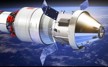 First Manned Deep Space Mission