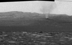 Dust Devils On Mars Seen By NASA's Curiosity Rover