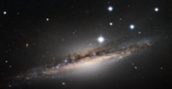 NGC 1055: Sister Of The Milky Way