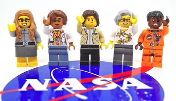 LEGO Releases 'Women Of NASA' Figures