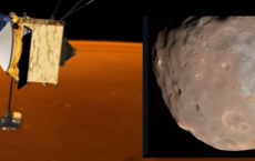 Dodging Phobos - MAVEN's Thrusters Fired To Avoid Mars Moon | Video