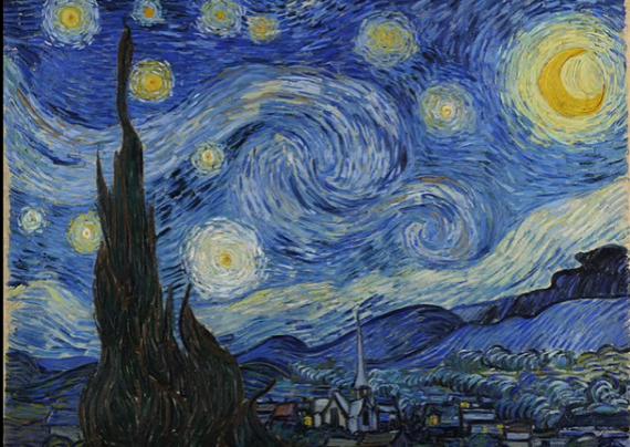 Art Bros: Starry Night (Vincent van Gogh)
