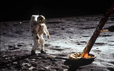 Apollo Astronauts: Deep Space Radiation Caused Heart Problems