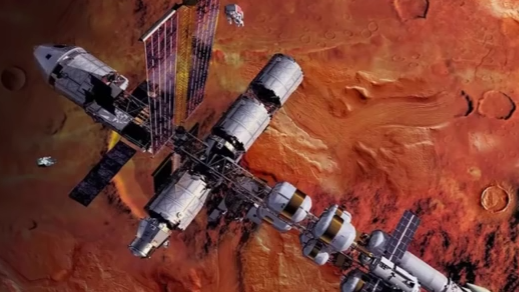 NASA, SpaceX Work Together On Mars Mission