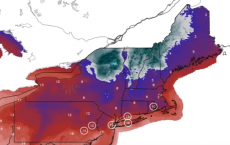 Northeaster Blizzard Warning Eastern USA