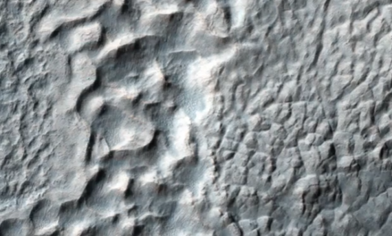Mantled Terrain In The Southern Mid-Latitudes