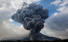 Mount Sinabung Eruptions Intensify