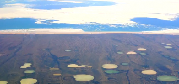 Over 200 Arctic Lakes Seeping Methane Gas
