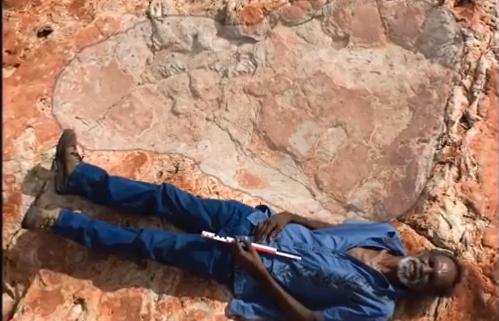 World's Biggest Dinosaur Footprint Discovered In Australia