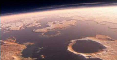 Impact Crater Linked To Martian Tsunamis