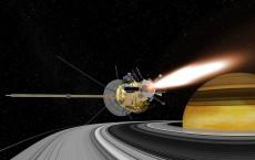 Cassini Spacecraft In Earth swing