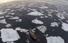 Drone Captures Extent Of Arctic Sea Ice Melting