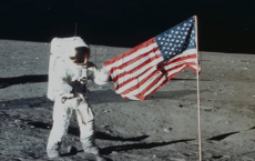 American Flags Planted On The Moon Have Likely Turned White