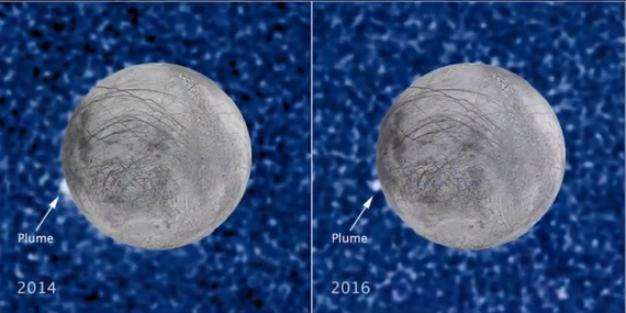 Europa Water Vapor Plumes - More Hubble Evidence