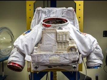 Stylish Metallic Astronaut Spacesuit Developed By NASA Systems Engineer Raul Polit-Casillas