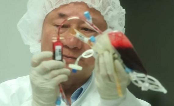 Inside An Umbilical-Cord-Blood Bank