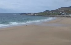Irish Beach 'Reappears Overnight' In Freak Tide