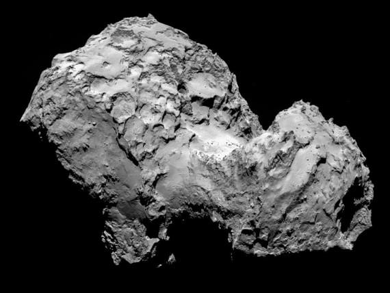 Rosetta Spacecraft Rendezvous With Comet