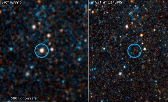 Birth Of A Black Hole Captured By Telescopes
