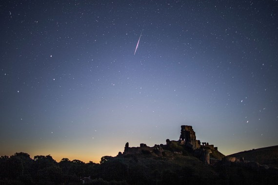 Spectacular Perseid Meteor Shower Can Be Seen Across the Night Skies