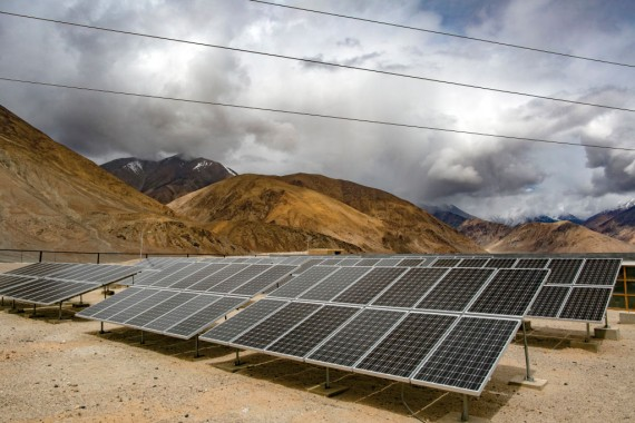 Solar Power Looks To Expand At India's Remote Ladakh Region