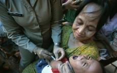 Measles Immunization Drive In Jakarta