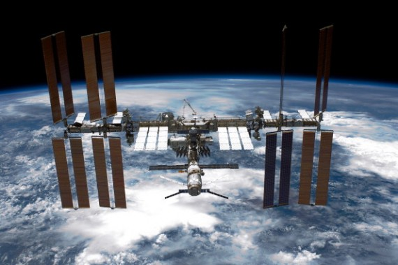 The ISS Under Command Of Astronaut Mark Kelly