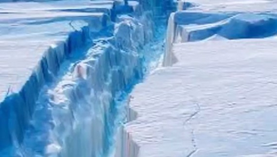 A Giant Iceberg Is About To Break Off From Antarctica
