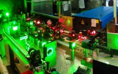 Part of the resonance ionization laser ion source (RILIS) at ISOLDE