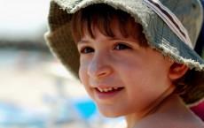 Beach Kid with Sunscreen