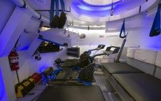interior view of The Boeing Company's CST-100 spacecraft