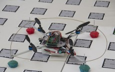 The Quadcopter, built at TU Vienna