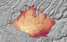 yosemite rim fire between August 19 and September 2, 2013, as reported by fire managers on InciWeb
