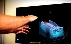 SpaceX paired a Leap Motion gesture reader with its Siemens NX computer aided design software and added 3D glasses