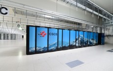 Cray XC30 supercomputer «Piz Daint» at the Swiss National Supercomputing Centre CSCS in Lugano.
