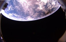 One of Aerospace's CubeSats captured a photo of the moon's shadow on Earth's surface